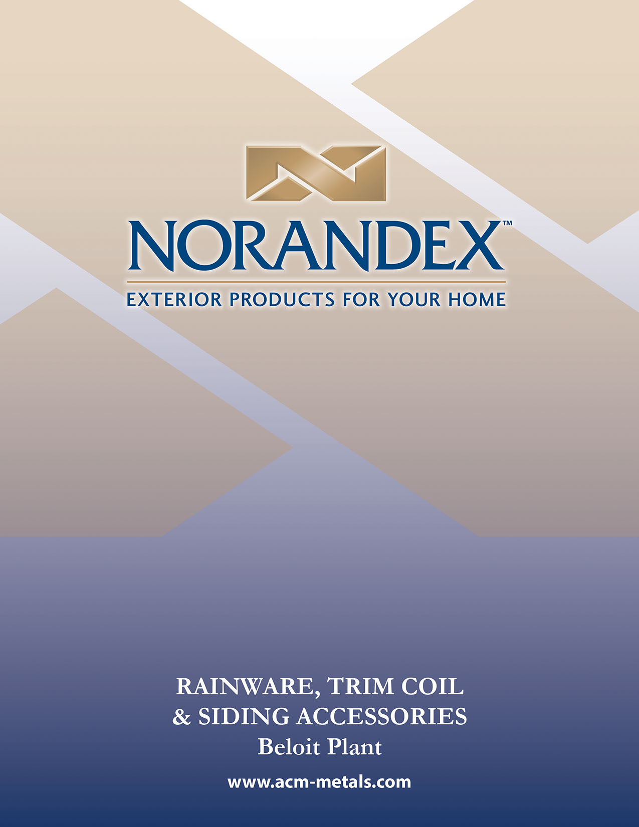 Beloit, Wisconsin, Norandex product catalog cover